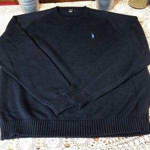 J. Crew Sweaters - J Crew 100% Cotton Crewneck Sweater Navy